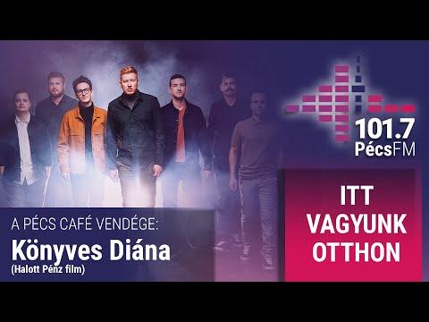 Pécs Café: Palotai Tamás vendége Könyves Diána (Halott Pénz film)