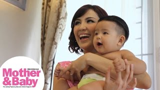 Behind The Scene: Pemotretan Cover Sharena Delon Mother&Baby Mei 2015