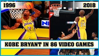 KOBE BRYANT, the evolution in Video Games [1996 - 2018]