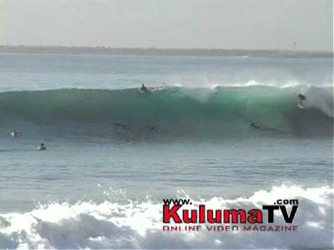 Durban New Pier surfing. Firing Again 15.04.2011