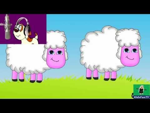 Nursery Rhymes By Kids   Baa Baa Blacksheep   Animated Kids Songs With Lyrics By Kidsfun Tv video