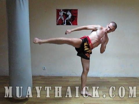 Тайский бокс (муай тай).  Техника ударов ногами.  Урок №2/Muay Thai. Technique of shots by feet
