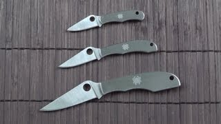 Perfect keychain knives: Spyderco bug set (review)