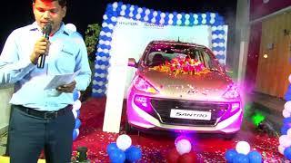 Golden Hyundai Santro Launch Video October 2018-4