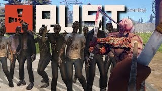 ENTIRE HORDE OF ZOMBIES! | Rust Horde #1