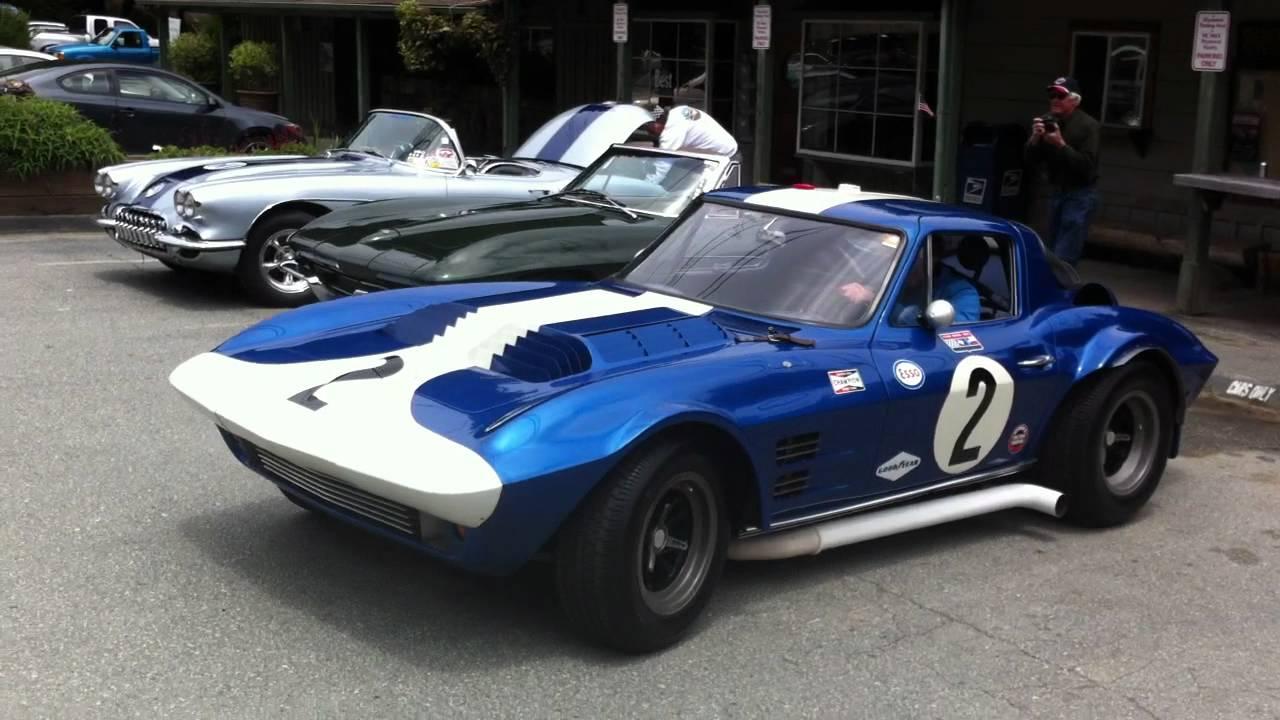 Original Corvette Grand Sport 003 At Alices Restaurant