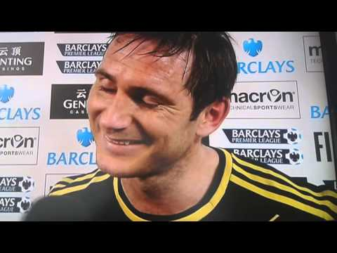 Frank Lampard emotional speech