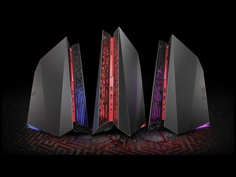Компактный, стильный и очень мощный игровой компьютер Asus ROG G20CB