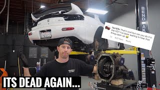 How hertlife blew up my Rx-7...Rest in Peace