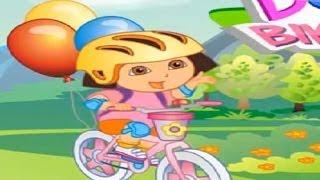 DORA THE EXPLORER - Dora's Bike Ride | New Full Game HD (Game online for Children)