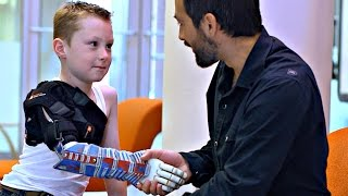 An Affordable 3D-Printed Arm
