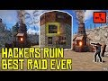Hackers Ruin Our BEST RUST ROCKET RAID EVER RUST mp3
