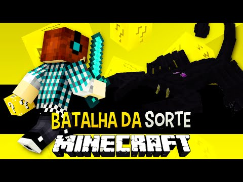 Batalha da Sorte - Emperor Scorpion Desafio do Lucky Block Minecraft