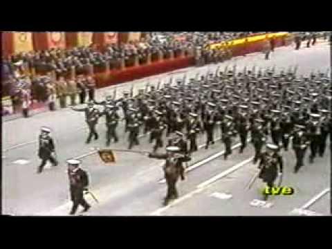 Unidades de Marina. Desfile FAS Valladolid 1984