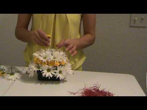 Clases de floristeria  happy birthday Cake pastel de cumpleanos en flores naturales