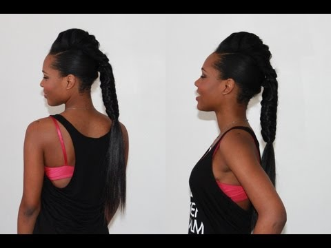 Long Fishtail Braid with Hair Extensions