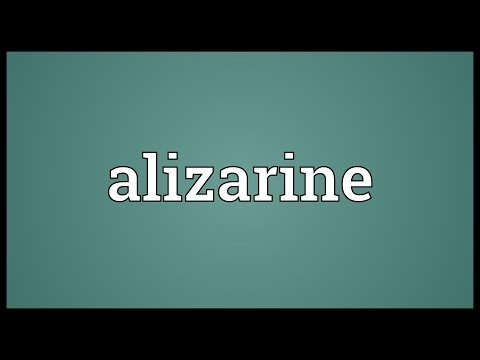 Header of alizarine