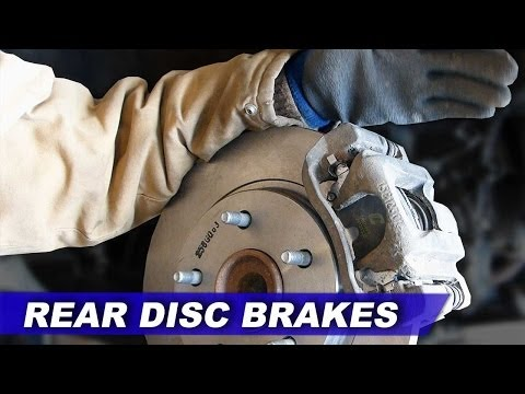 STEP BY STEP: Grand Caravan REAR disc brake pads & rotors without special tool (2007-2013)