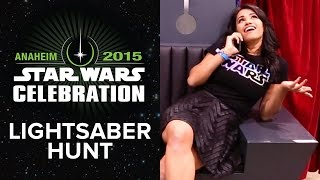 Star Wars Celebration | Tiffany Buys A Lightsaber (2015) HD