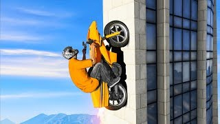 IMPOSSIBLE BUILDING CLIMB CHALLENGE! (Gta 5 Funny Moments)
