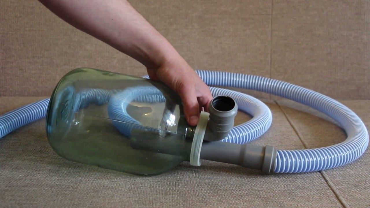 Самодельные моющие пылесосы