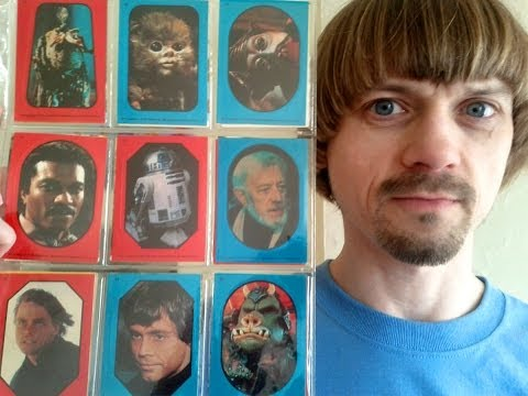 Star Wars Card Collection -(Weird Paul) Star Wars Trading Cards Vlog