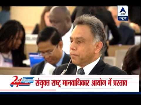 Anti-Lanka UN resolution adopted, India makes no amendments