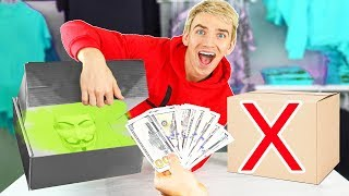 DONT OPEN the WRONG GAME MASTER SPY GADGET MYSTERY BOX!! (Win $10,000 Prize Money)