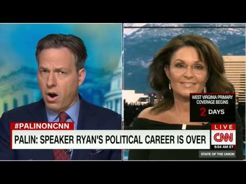 Sarah Palin: I think Paul Ryan's political career is over