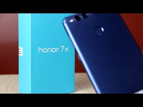 Honor 7X Unboxing & Overview !! HINDI