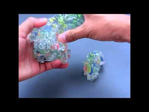kawakami-model of Verotoxin (Shiga-like toxin) made with 3D printing technology