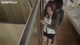 Hot toilet Korean short clip