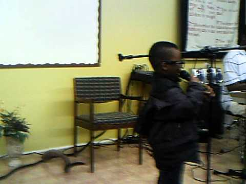 Ephraim Singing You Reign By Vashawn Mitchell.avi video