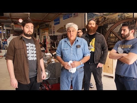Behind the Scenes with Epic Meal Time - Jay Leno's Garage