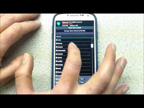 Samsung Galaxy S4 Tether/WiFi Unlock (Verizon)