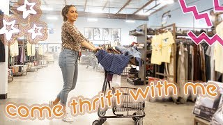 COME THRIFT WITH ME + LEAH'S LIFE! // GOODWILL THRIFTING ♡