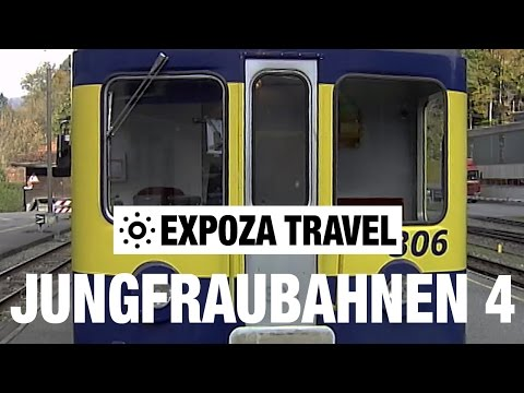 Jungfraubahnen Part 4 (Switzerland) Vacation Travel Video Guide