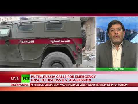 Seyed Mohammad Marandi talks to RT International