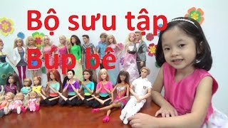 Bộ sưu tập búp bê Barbie, Ken, Licca Chan, Disney Princess - AnhAnhChanel.com (Táo đỏ)