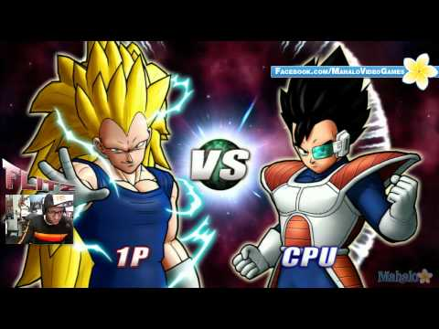 Dragon Ball Raging Blast 2 SSJ3 Vegeta - Galaxy Mode - Fight 7