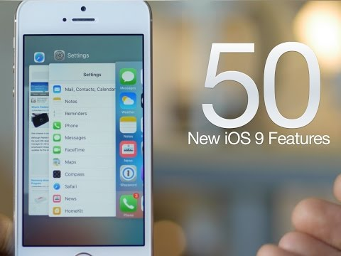 50 new iOS 9 features for iPhone + iPad - Which is your favorite?