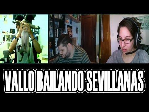 MOMENTOS RANDOM EN SKYPE #9 | VAYO BAILANDO SEVILLANAS JAJAJAJA XD | Josemi