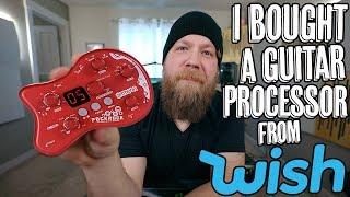I Bought A Guitar Processor From Wish.com