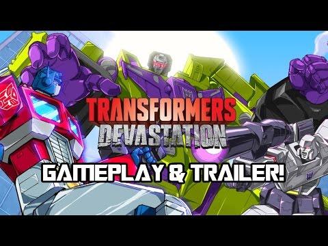 Transformers: Devastation Gameplay & Trailer Hype!