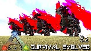 ARK: SURVIVAL EVOLVED - TEK DRAGON BREEDING E82 !!! ( ARK EXTINCTION CORE MODDED )