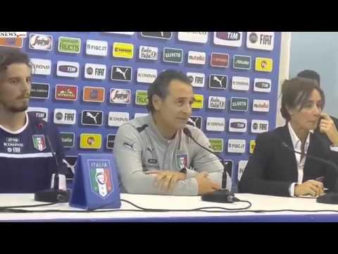 Prandelli press conference in Naples (Italian with English subtitles)