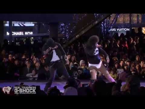 Les Twins G-SHOCK REAL TOUGHNESS Japan 2012 | YAK FILMS