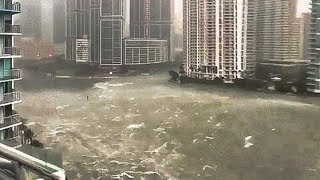 Miami Irma High Rise Streets Flooding