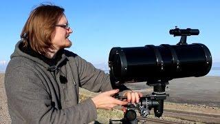 Measuring Earth's Radius With A Telescope?