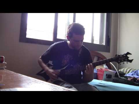 Blind Guardian -Lost in the twilight hall live version (guitar cover)